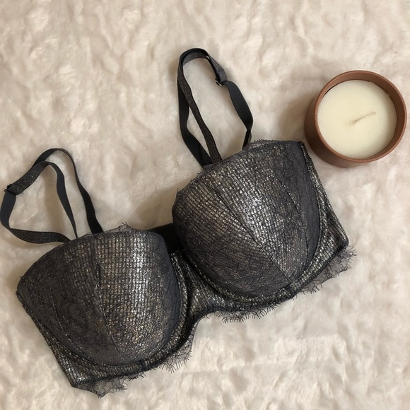 4fb81ea87e NWT Dream Angels Lace Strapless Multiway Bra